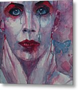 This Is The Fear This Is The Dread  These Are The Contents Of My Head Metal Print by Paul Lovering