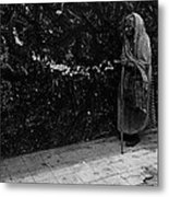 This Old Woman Was In Her Youth During The 1910-1920 Mexican Revolution Guadalajara Jalisco Mexico  Metal Print