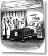 This Patient Has A Rare Form Of Medical Insurance Metal Print