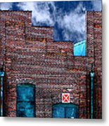 This Property Is Condemned Metal Print by Colleen Kammerer