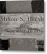 This Way To The Birth Place Metal Print