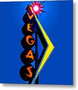 This Way To Vegas Metal Print