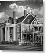 Thistle Hill Bw Metal Print