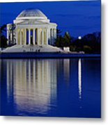 Thomas Jefferson Memorial Metal Print by Andrew Pacheco