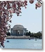 Thomas Jefferson Memorial In Dc Metal Print