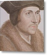 Thomas More Metal Print by Hans Holbein the Younger
