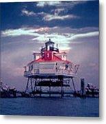 Thomas Pt.  Shoal Lighthouse Metal Print