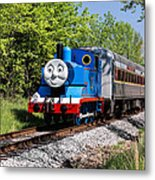 Thomas Visits The Cvnp Metal Print