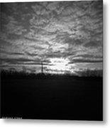 Thornton Sunset With A Holga Metal Print