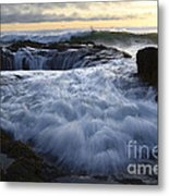 Thors Well 2 Metal Print by Bob Christopher