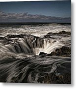 Thor's Well Or Cooks Chasm Metal Print
