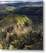 Thorsmork Valley In Iceland Metal Print