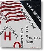 Those Who Gave Their Lives Metal Print by Lawrence  Dugan