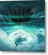 Those Who Have Departed - Celestial Version Metal Print