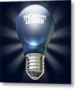 Thought Leader Metal Print