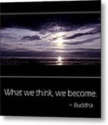 Thoughts Metal Print
