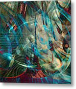 Thoughts In Motion Metal Print