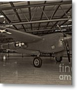 Thoughts Of Midnite P-38 3 Metal Print