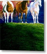 Three Amigos Metal Print by Hanne Lore Koehler