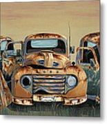 Three Amigos Metal Print