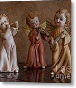 Three Angels Metal Print