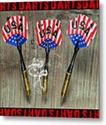 Three Darts Metal Print