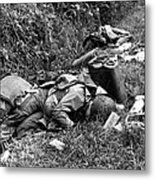 Three Dead U.s. Airborne Troops Metal Print