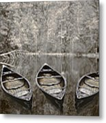 Three Metal Print