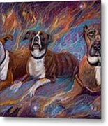 If Dogs Go To Heaven Metal Print