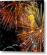 Three Explosions Metal Print