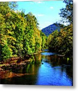 Three Forks Williams River Early Fall Metal Print by Thomas R Fletcher