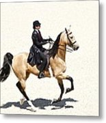 Three Gaited Buckskin Metal Print