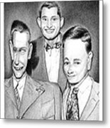 Three Guys Metal Print