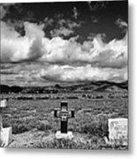 Three Headstones Metal Print