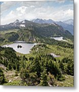Three Lakes Metal Print