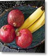 Three Pomegranates  Metal Print