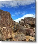 Three Rivers Petroglyphs 2 Metal Print