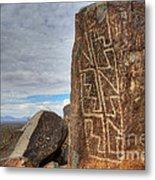 Three Rivers Petroglyphs 4 Metal Print