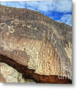 Three Rivers Petroglyphs 6 Metal Print