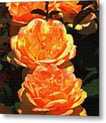 Four Rose At Mcc Metal Print