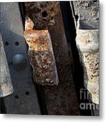 Three Shades Of Rust Metal Print