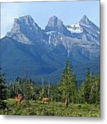 1m3203-three Sisters Faith Hope Charity Metal Print