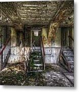 Three Stairs To Nowhere Metal Print