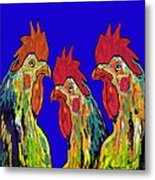 Three Tenors Metal Print