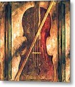 Three Violins Metal Print