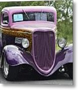 Three Window Coupe Metal Print