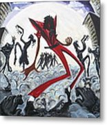 Thriller V2 Metal Print by Tu-Kwon Thomas