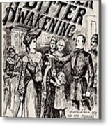 Thrilling Life Stories For The Masses 1892 Metal Print