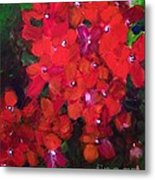 Thriving To Be Noticed Metal Print