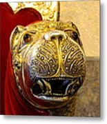 Throne Detail Udaipur City Palace India Metal Print
